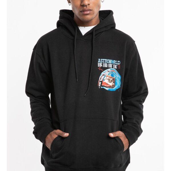 ASTROWORLD Hip Hop Mens Hoodies Stranger Things Loose Casual Black Hooded Hoodie Streetwear Xxxtentacion Couple Hoody