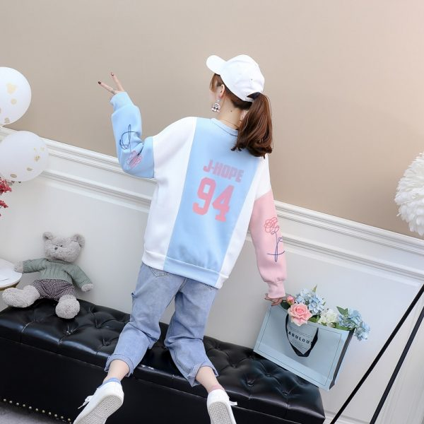 Jungkook Unisex Hoody Kpop Jung Kook Hoodies 97 Sweatshirts Love Yourself Bangtan Boys KPOP Casual Harajuku Women Hit Color Tops