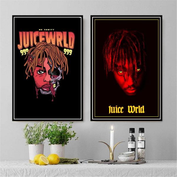 Juice Wrld Painting