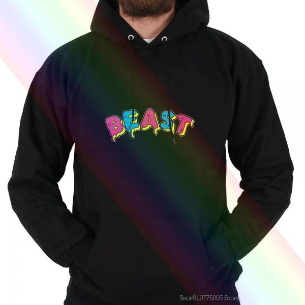 Frosted Beast Mr. Beast Design Hoodie Sweatshirts Mr Beast Pewdiepie Youtube Merch 2020 High Quality Brand Hoodie Sweatshirts Ca