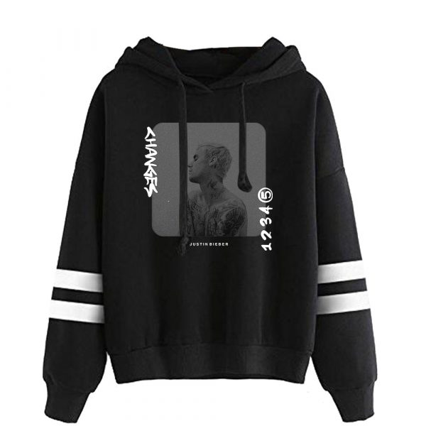 Justin Bieber Hoodies Harajuku Hoodies Sweatshirt Pullover Sweatshirt Streetwear Clothing 2020 New Album Change Kpop Fashion