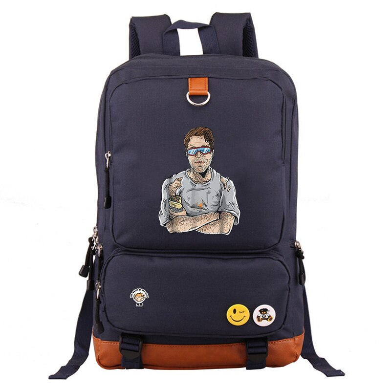 Shane Dawson Black Pig Backpack