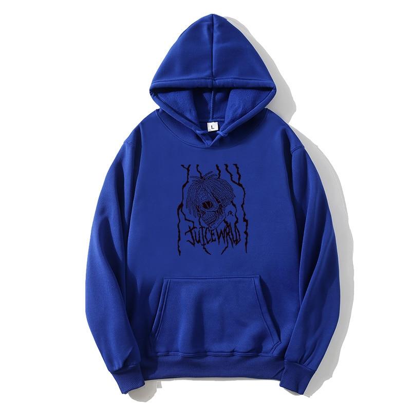 Rapper Juice Wrld Hoodies Men Women Hip Hop Sweatshirts Streetwear Fashion Hoodies Popular Hooded Pullovers Rip Juice Wrld Hoody