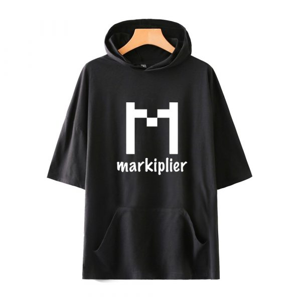 Markiplier Fashion Prints Hooded T-shirts Women/Men Summer Short Sleeve Tshirts 2020 Hot Sale Casual Streetwear Clothes