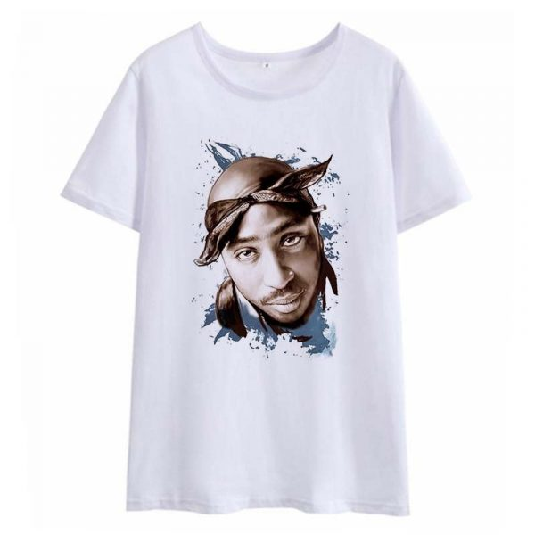 Tupac 2pac 2020 New Women T-shirts Casual Harajuku Printed Tops Summer Female T Shirt Short Sleeve T Shirt For Women Clothing