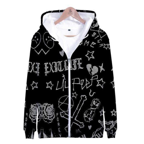 Lil Peep Skull Jacket