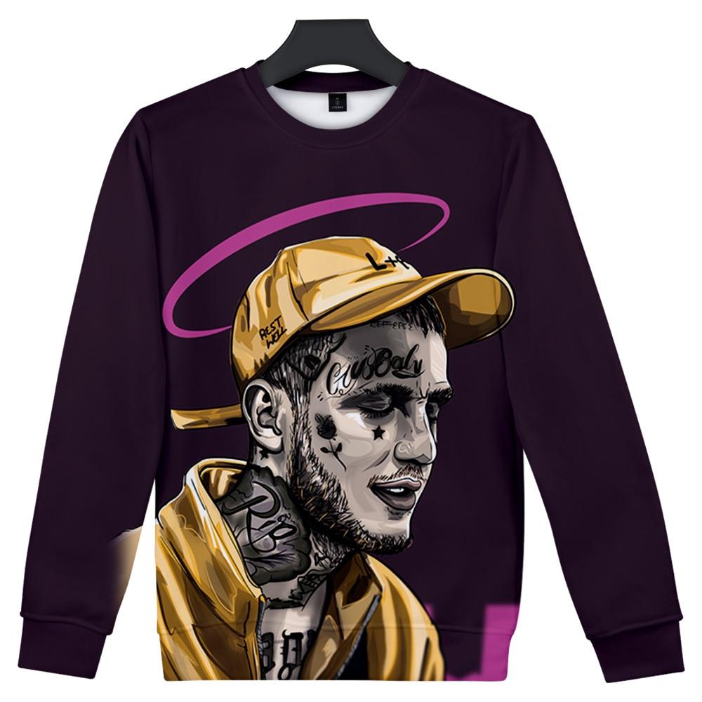 New Lil Peep Sweatshirt Fashion Casual Capless O-neck Hoodie Men/Women Winter Popular Harajuku Style Pullover Streetwear