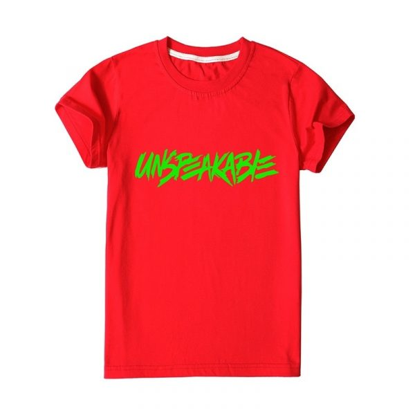 Kids UNSPEAKABLE Graphic T Shirts Girls Boys eenager Girl Shirt Pullover Short Sleeve ee Children Clothes ops