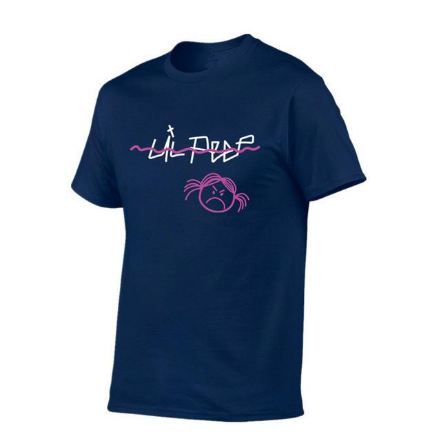 Summer Hot Man's hell boy lil.peep men/women T Shirts Cotton Men O-neck Fashion Printed Hip-Hop Tee Camisetas Men Clothing
