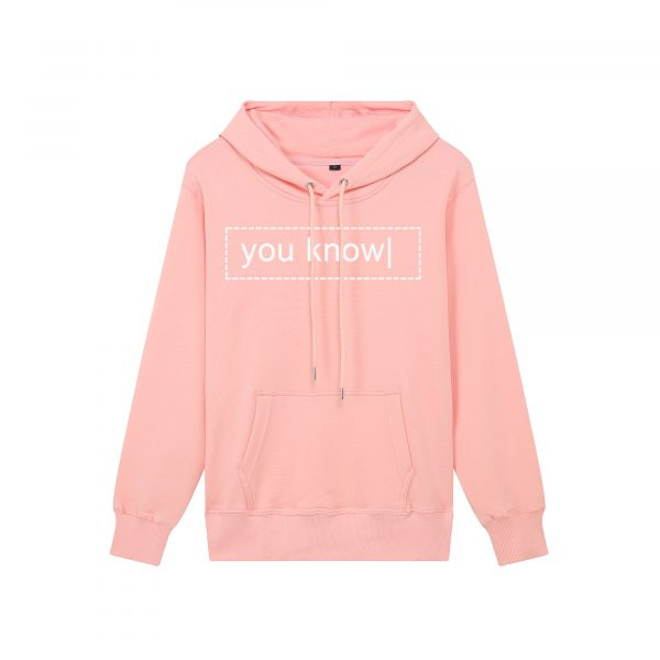 Men's Hoodies Merch Brian Maps Spring Autumn Long Sleeve Hooded Sweatshirts Unisex Casual Loose Pullover You Know | Pink Hoodies