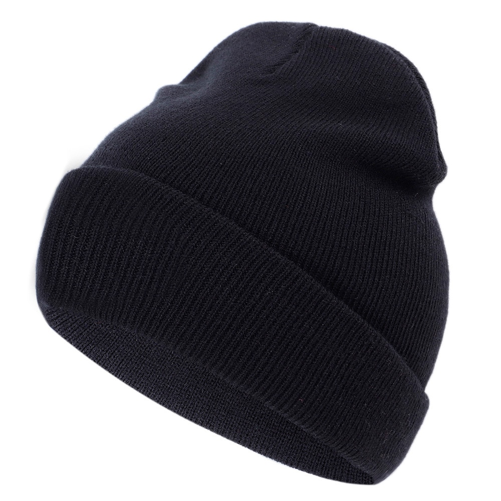 New Embroidery Knitted Hat Women's Winter Hat Innocent Cap Casual caps Cartoon Smile Cotton Cap Outdoor Warm caps Fun Hat beanie