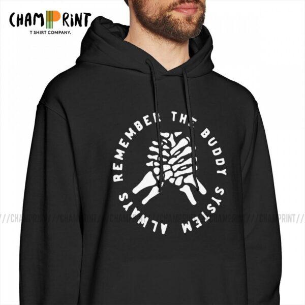Camp Unas Annus Men Hooded Sweatshirts Leisure Ethan CrankGameplays Markiplier Mark Memento Mori Hoodies Autumn Hooded Tops