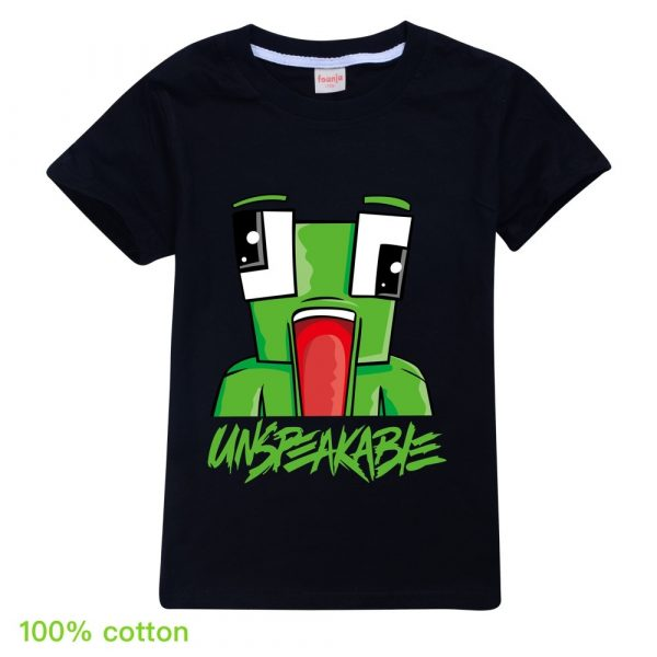 2020 New Unspeakable Inspired Boys T-Shirts summer Gaming Kids sweatshirt T-Shirt for Girls Tops Tees Children Clothing Hoodies