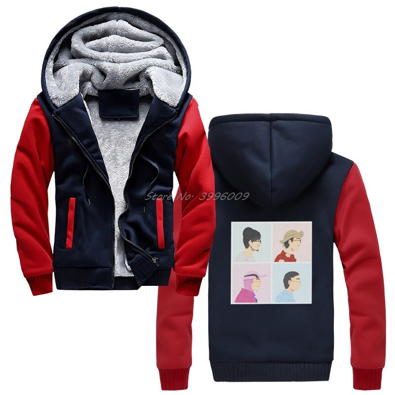 Filthy Frank Joji Hoodie Men Pink Guy hoodies Meme Japanese Youtube Vintage Cotton Winter Keep Warm Thicken Sweatshirts