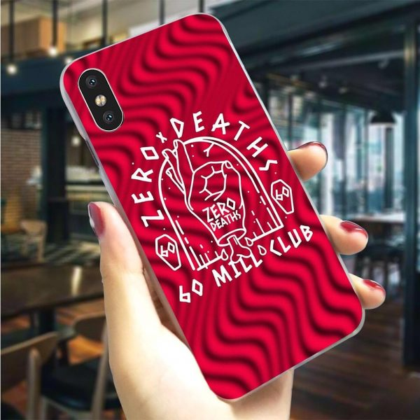 Hard PewDiePie Zero Deaths Phone Cover for iPhone 7 Plus Case XR Xs Max 11 Pro X 8 6 6S 5S 5 SE Cases