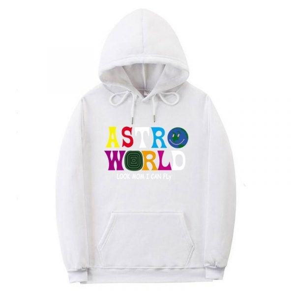 ASTROWORLD Look Mom I Can Fly Hoodie Travis Scott Astroworld Hoodie 2019 Gift Print Men's Hip Hop Pullover Sweatshirt Hot sale
