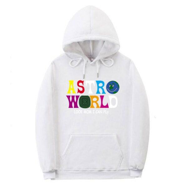 ASTROWORLD Look Mom I Can Fly Hoodie Travis Scott Astroworld Hoodie 2019 Gift Print Men's Hip Hop Pullover Sweatshirt Hot sale