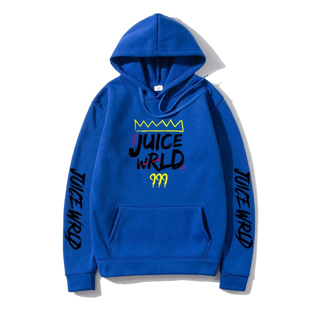 2020 blue black white red J UICEWrld hoodie sweatshirt juice wrld juice wrld juicewrld trap rap rainbow glitch juice world Hoody