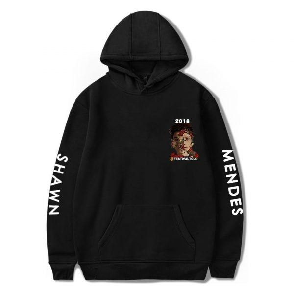 Shawn Mendes Hoodie Autumn Women Hoodies Print Hip Hop Sweatshirt Men's Long Sleeve Hoodies Pullovers Girls Female Femme