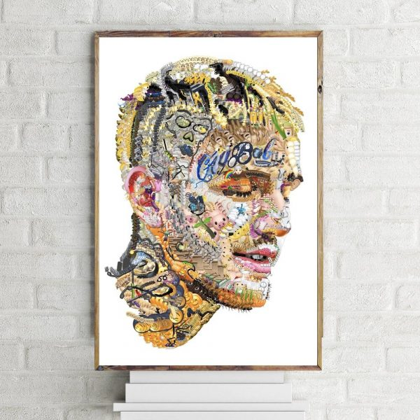 Modular Home Decor Prints Canvas Wall Art Pictures Hip Hop Rapper Lil Peep Painting Nordic Simple Poster For Bedside Background