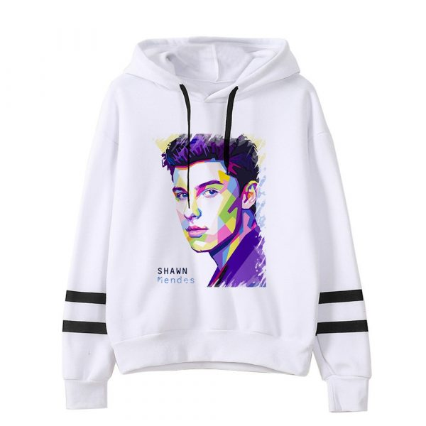 New Shawn Mendes Hoodie Autumn Women Hoodies Print Hip Hop Sweatshirts Men's Long Sleeve Hoodies Pullovers Coat Girls Female
