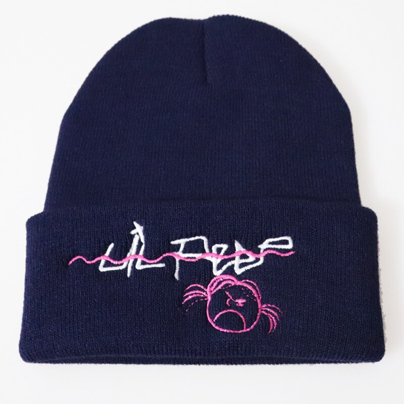 xxxtentacion Lil Peep Beanies Cap for Men Skiing Knitted Skullies Women Embroidery Hat Hip Hop Unisex Caps