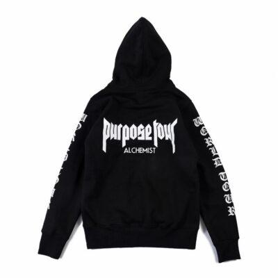 New Winter kanye Justin Bieber men and woman trasher Hoodies & Sweatshirts Pure Cotton Single Men Hoodies Purpose Tour
