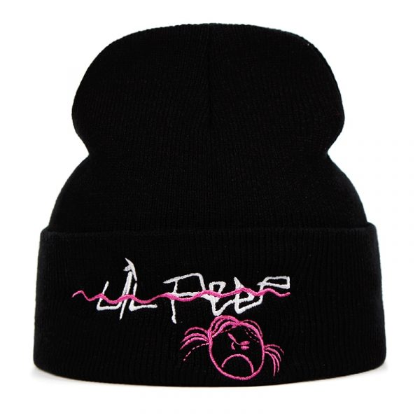 Lil Peep Beanie Embroidery Knitted Hat xxxtentacion lil.peep Love men women Knit Cap Skullies Warm Winter Unisex Ski Hip Hop Hat