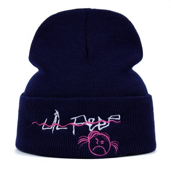 Lil Peep Beanie Embroidery xxxtentacion lil.peep Love men women Knit Cap Knitted Hat Skullies Warm Winter Unisex Ski Hip Hop Hat