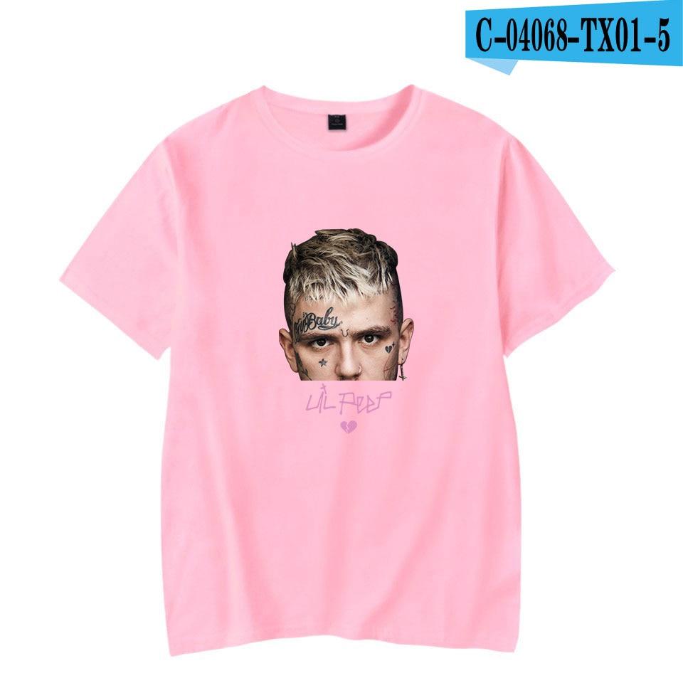 Lil peep 2D Fashion Print hot sale T-shirts Men Summer Short Sleeve Tshirts high quality Lil peep New Arrival Hot Sale shirt