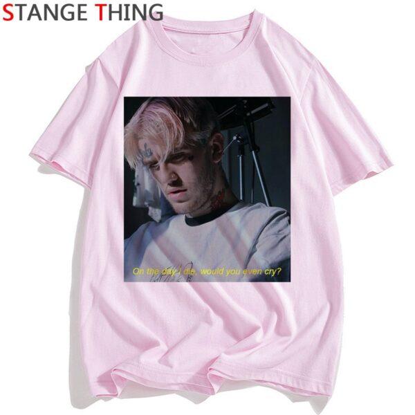 Lil Peep T Shirt Women Rip Rapper Lil Peep. Cry Baby T-shirt Hip Hop Tshirt Funny Print Tshirt Street Top Tee Female