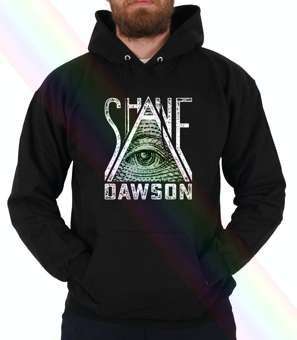 Shane Dawson Eyes See All Illuminati Hoodie Sweatshirts Black S 3Xl Women Men
