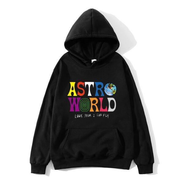 ASTROWORLD look mom i can fly hoodie Travis Scott Astroworld hoodie 2019 Gift Print Men's Hip Hop Pullover Sweatshirt