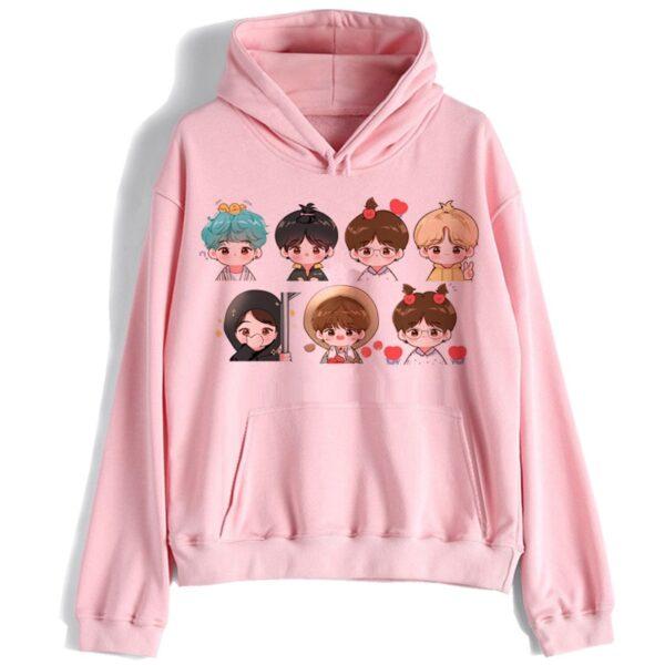 bangtan boys Sweatshirt women k pop streetwear hoodie JIN SUGA J HOPE JIMIN V JUNGKOOK korean hood kpop clothes hooded