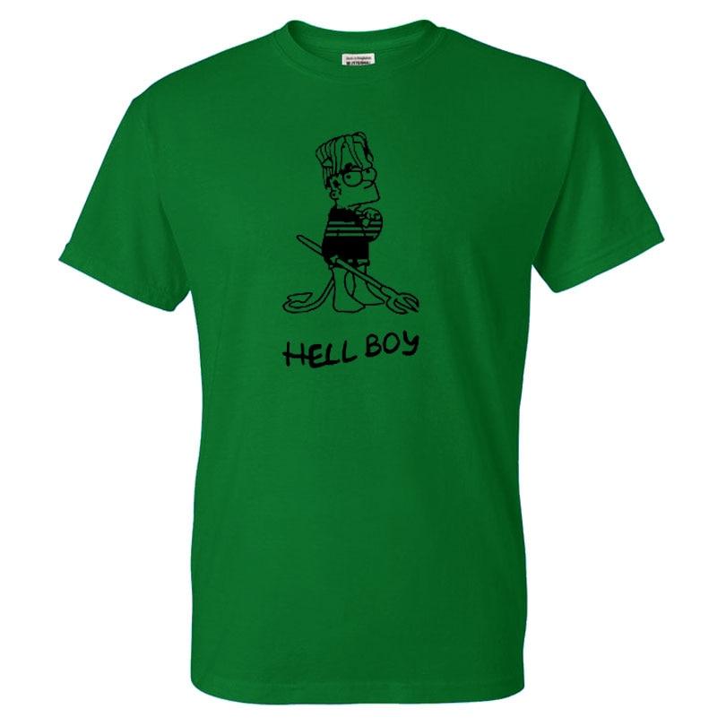 2019 Summer men lil peep Music Man Summer Graphic Tees Singer Summer print T-shirt Cotton Men T shirt New men TEE Funny Fashion