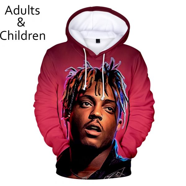 Juice WRLD 3D Hoodies Men Women Sweatshirts Harajuku Kids Hoodie pullovers Print 3D Juice WRLD Hoodies boys girls Clothing