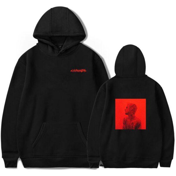 Justin Bieber Hoodies New Album Change Kpop Harajuku Hoodies Sweatshirt Pullover Sweatshirt Streetwear Plus Size Clothing