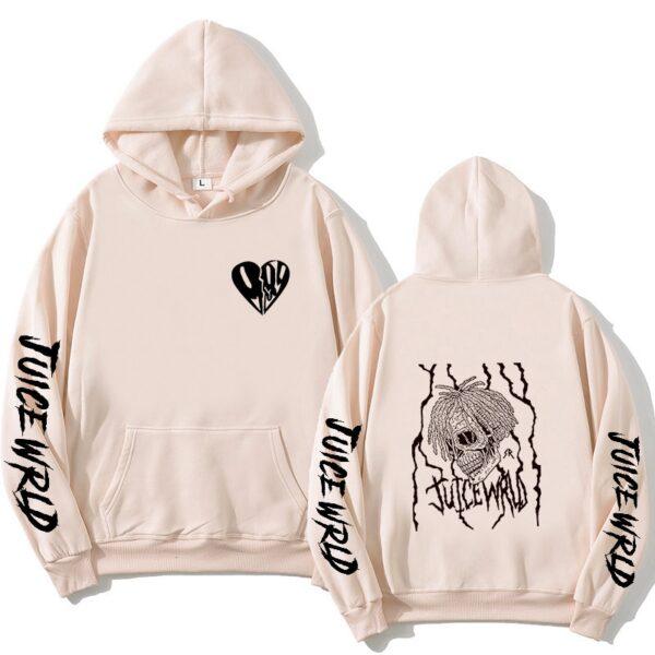 Juice WRLD Hoodies Sweatshirts Men Women Sweatshirt Hooded Hip Hop Fashion Casual Hoodie Juice WRLD print boys girls clothing