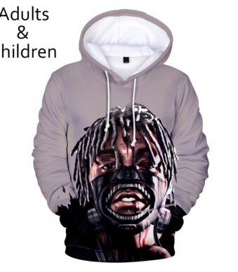 3D printed Juice WRLD Hoodies Men Sweatshirts Women Fashion Kids Hoodie New pullovers Autumn Casual Juice WRLD 3D Hoodie clothes