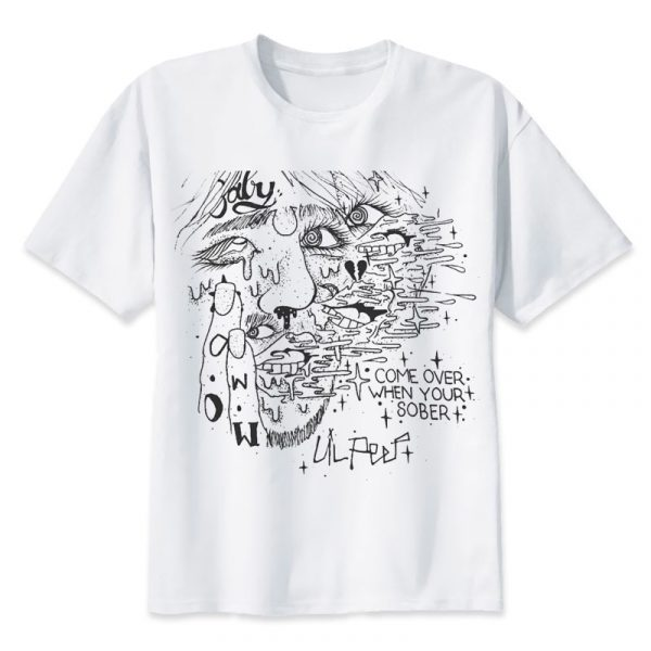 Lil Peep T Shirts Rapper Tshirt Crew Fashion Cool Tees Best Hip Hop Gift for Friends Comfortable Hiphop Tee Shirt