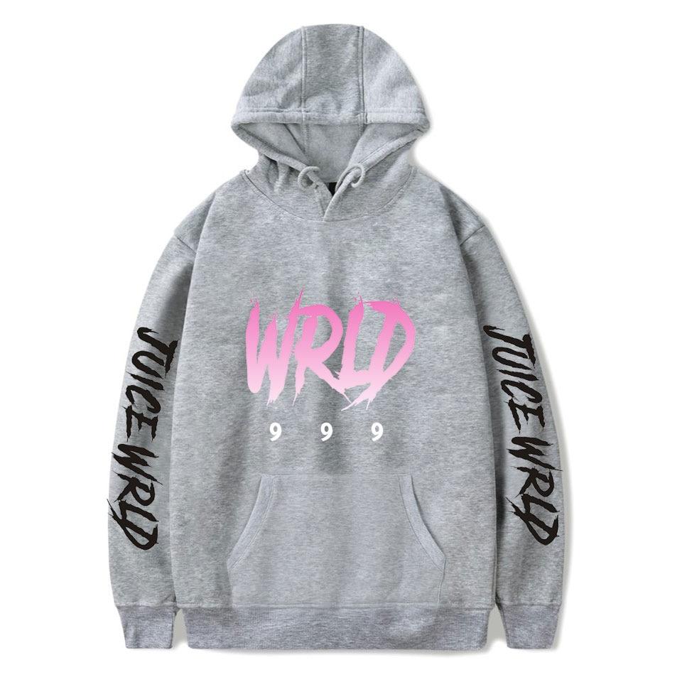 New print Juice WRLD Hoodies Men Women Sweatshirts Hooded Hip Hop Fashion Casual Hoodie Juice WRLD boys girls white pullovers