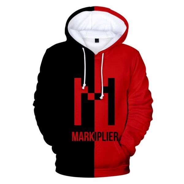 Markiplier 3D Printed Hoodies Women/Men Fashion Long Sleeve Hooded Sweatshirt Hot Sale Casual Streetwear Clothes