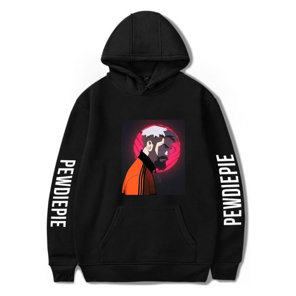 2020 New Pewdiepie Sweatshirts Loose Young Casual Adult Letter Men's Hoodies Stylish Logo Spring Autumn Winter Pullover Clothes