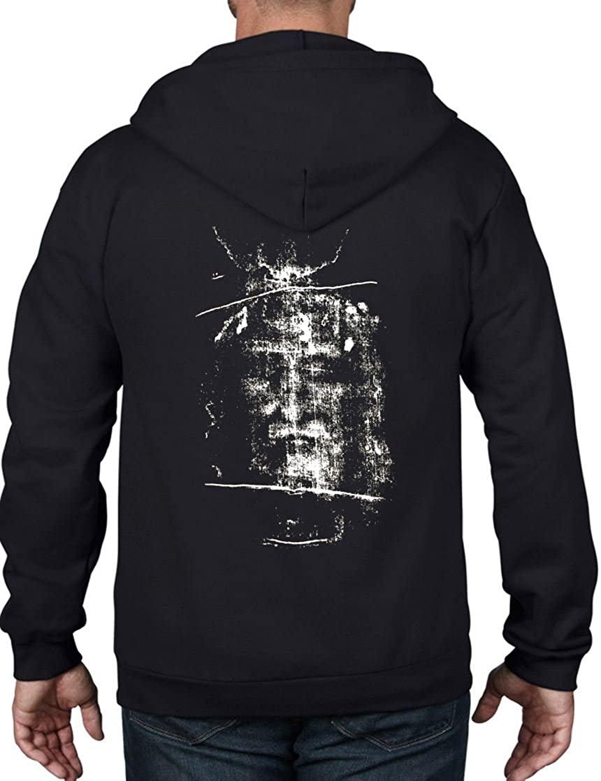 Tribal T-Shirts Turin Shroud Full Zip Hoodie