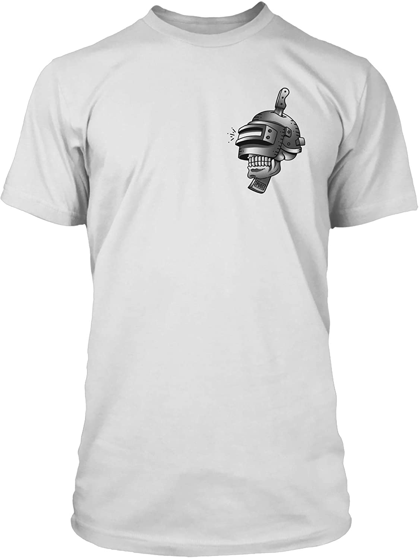 JINX PUBG Tattoo Men's Gamer Tee Shirt