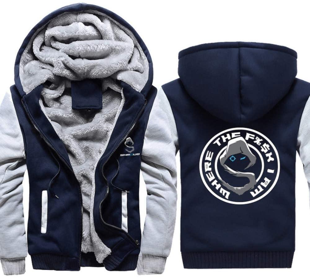YaNanHome Keep Warm European and American Plus Size Hoodie Sweatshirts, Men's and Women's Autumn and Winter New Hoodies,Shroud Plush Coat