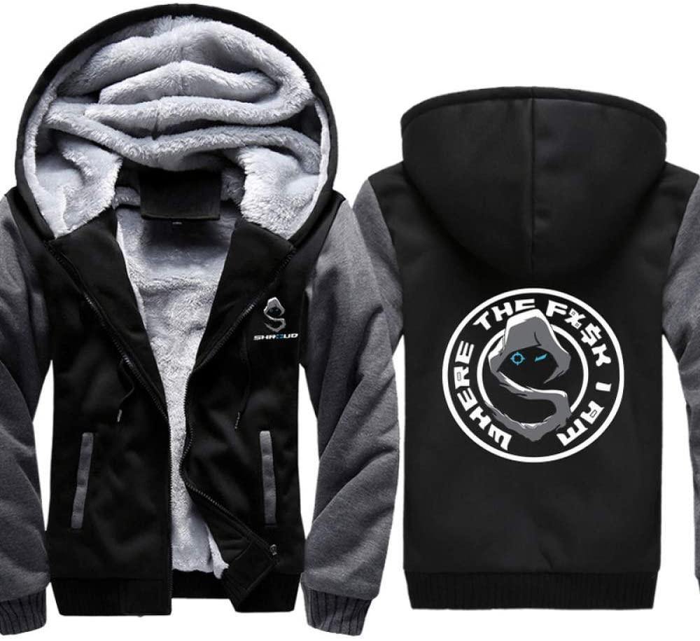 YaNanHome Keep Warm New Pullover,Hoodie,Cosplay Fashion 3D Printed Sweatshirt,Long-Sleeved Hoodie,Shroud Plush Coat