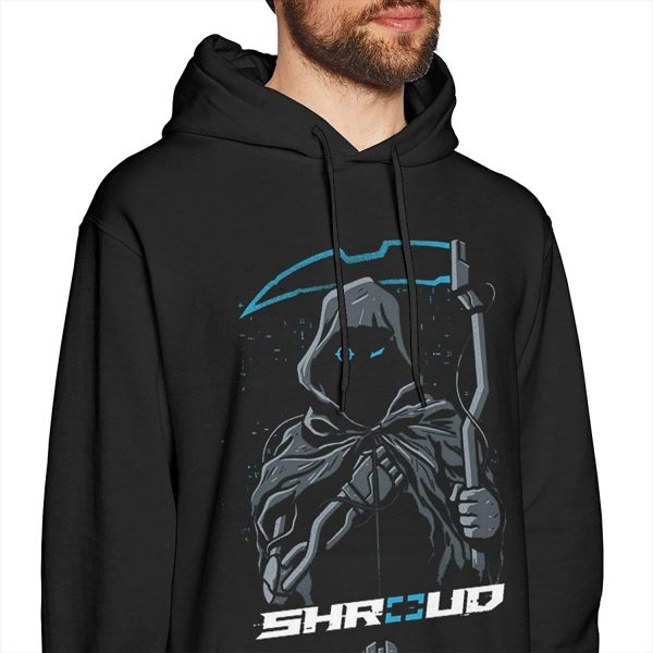 TRIOEPU Shroud Long Sleeve Pullover Hoodies Casual Light Hooded Sweatshirt